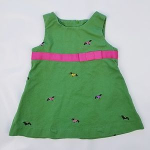 Hartstrings Baby Girl Sarafan Cotton Dress